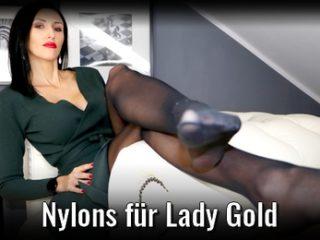 Nylons für Lady Gold